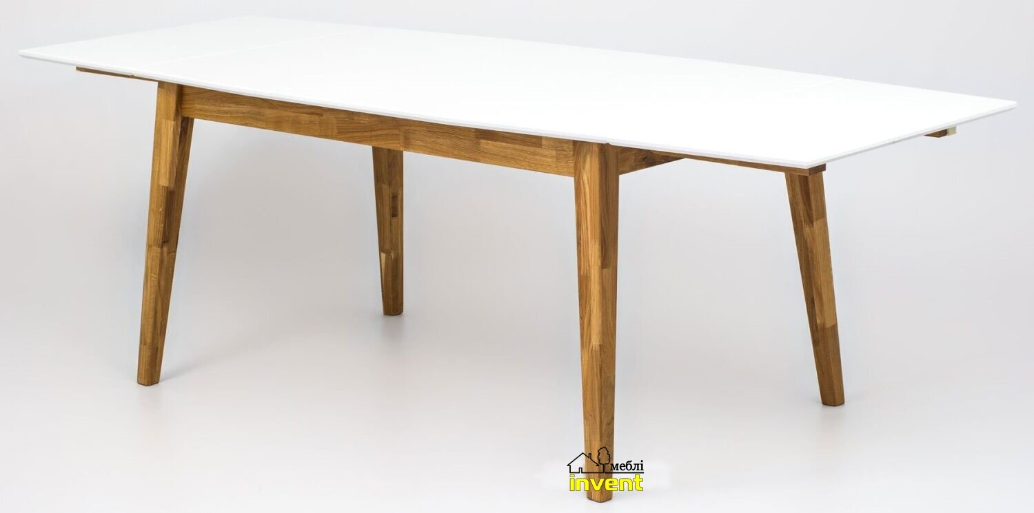 , 2, ШхД: 80х120см, SOLID TABLE, finger joint, Льняное масло
